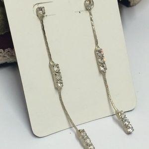 Elegant Vintage Crystal Dangle Earrings